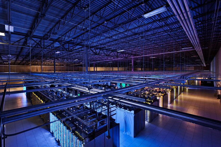 A glimpse inside Google's data centers