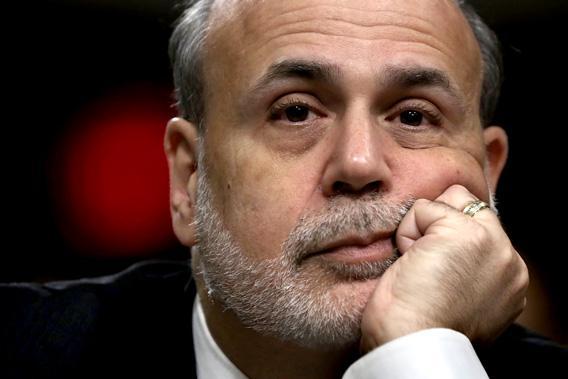 Ben Bernanke testifies during a hearing before the Joint Economic Committee.