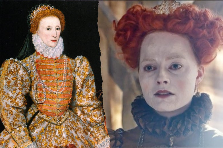 Elizabeth I, Margot Robbie as Elizabeth I