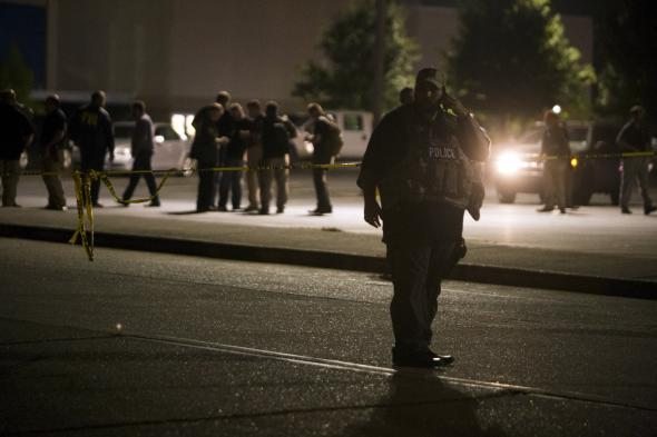 Other gun murder-suicides in U S : Louisiana mass shooting far from