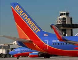 Southwest Airlines plane. Click image to expand.