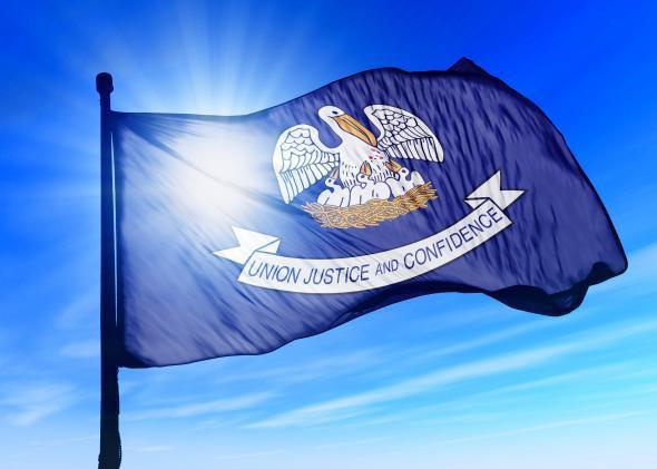 Louisiana state flag.