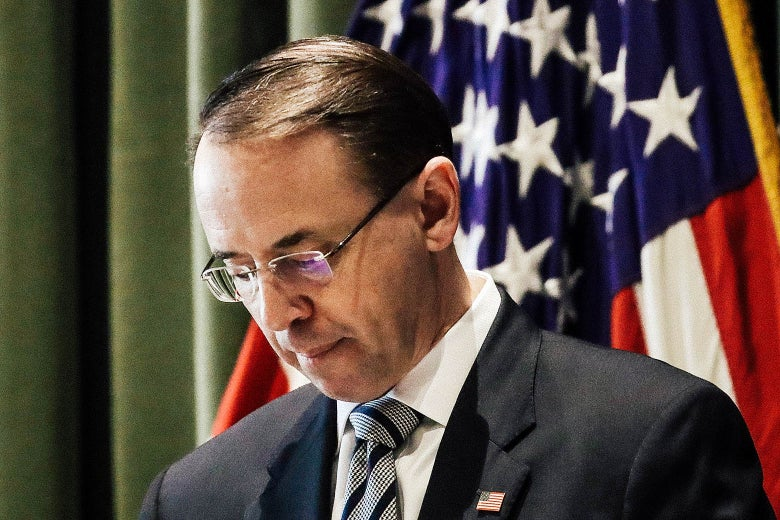 The Confusion Over Rod Rosenstein's Non-Firing Shows How Brilliantly Trump Has Undermined Our Democratic Institutions