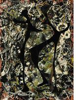 Rhythmical Dance by Jackson Pollock. Click image to expand.