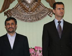 Mahmoud Ahmadinejad and Bashar al-Assad. Click image to expand.