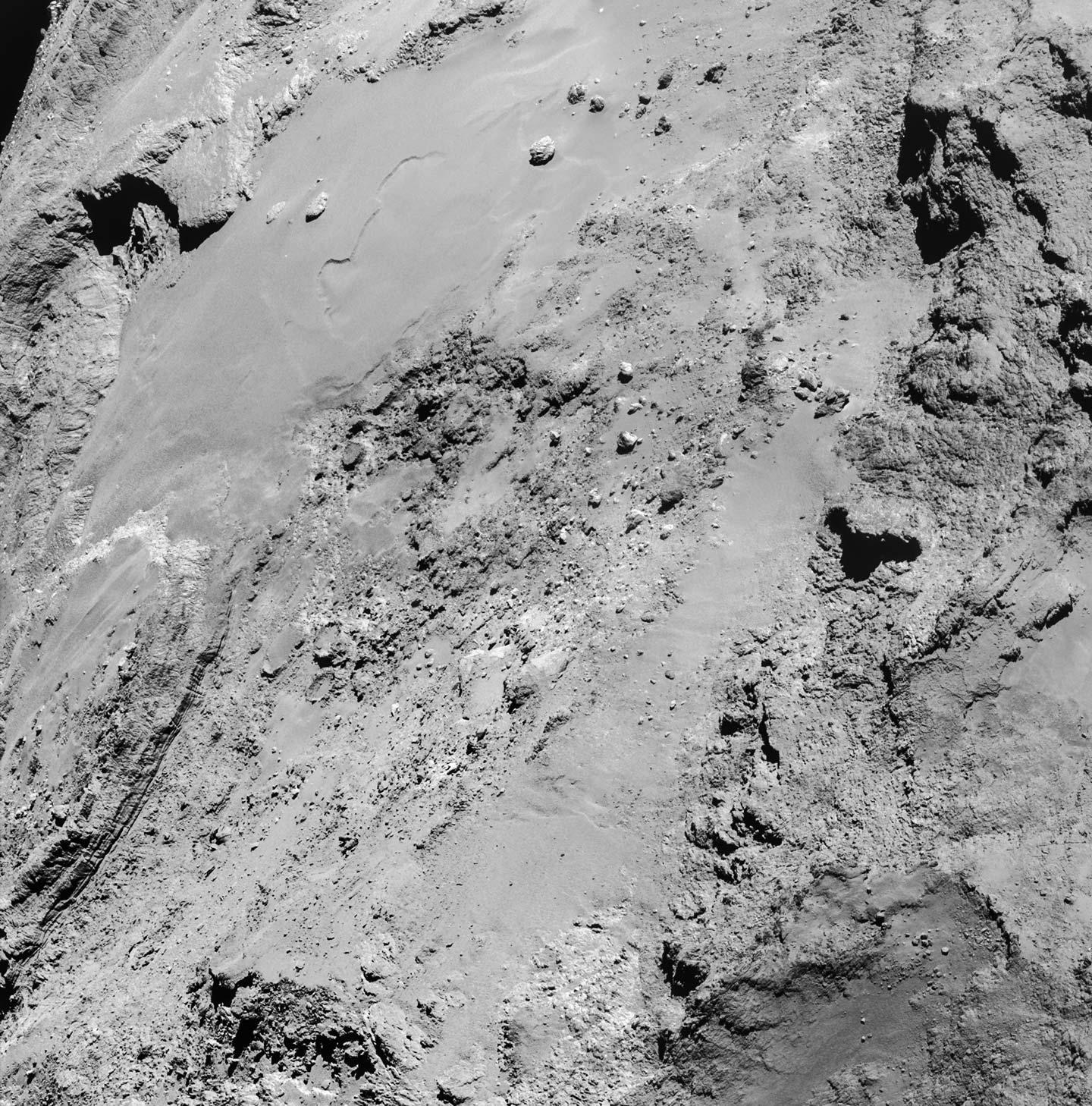 the comet 67P/Churyumov-Gerasimenko