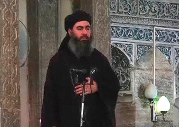 The reclusive leader of the militant Islamic State, Abu Bakr al-Baghdadi.