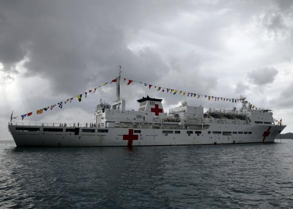 China Peace Ark hospital ship