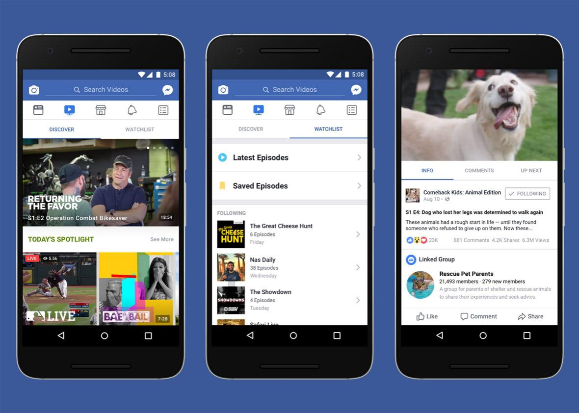 Facebook Watch is a threat to Twitter, not YouTube