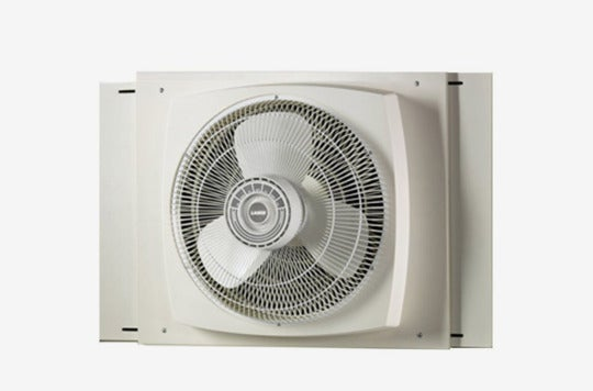 Lasko Electrically Reversible Window Fan.