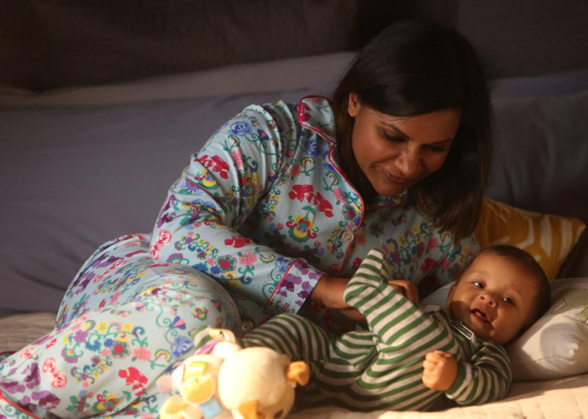 The Mindy Project S Idea Of New Parenthood Is Exactly What Being A New Parent Is Not Like