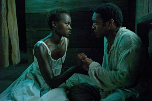 Patsey (Lupita Nyong'o) asks Solomon to end her life.
