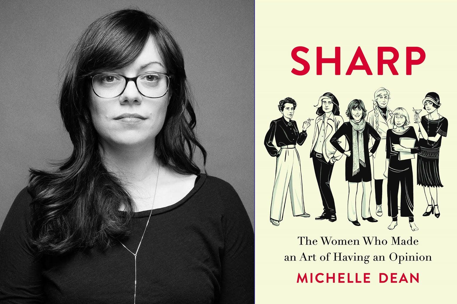 Michelle Dean, Sharp Cover.