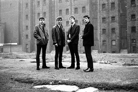 The Beatles in Liverpool, September 28, 1962.