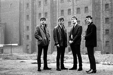 The Beatles in Liverpool on Sept. 28, 1962.
