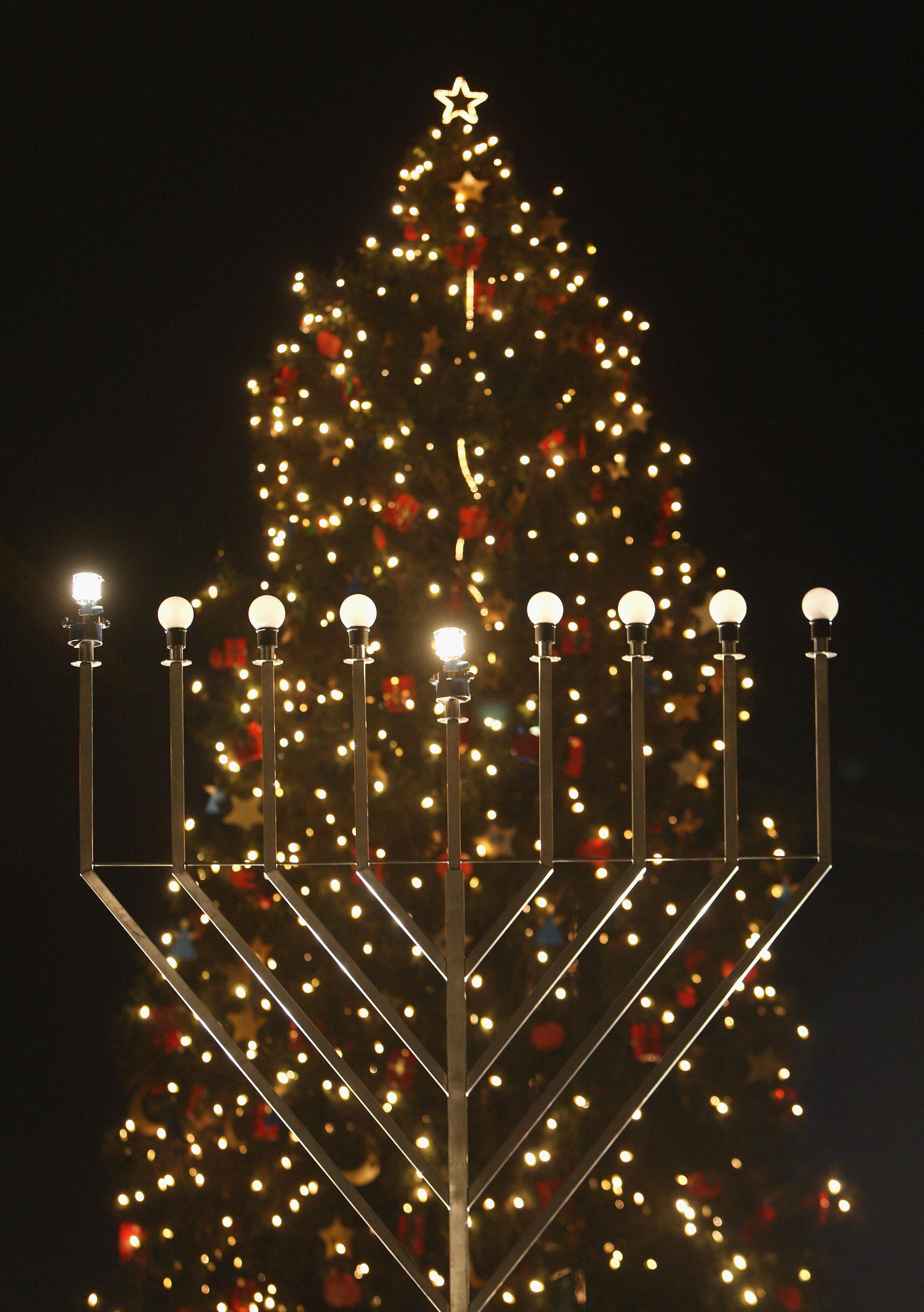 Jews Christmas Trees.American Jews Embrace Your Secular Intermarried Selves