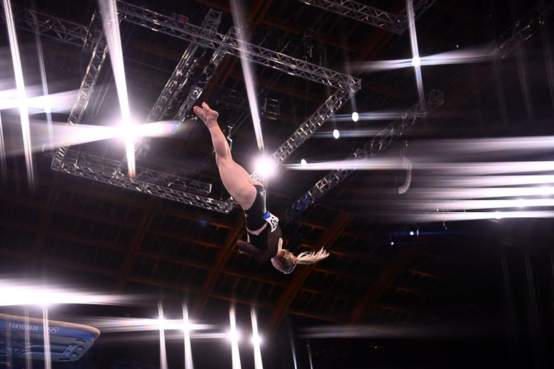 ��The Olympic Gymnastics Event Finals Are Unsatisfying and Unsafe
