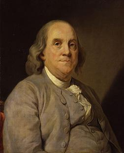 Benjamin Franklin. Click image to expand.