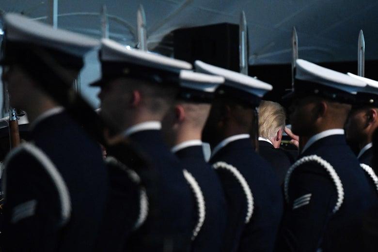 U.S. Coast Guard Change-of-Command Ceremony