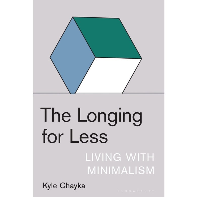 The cover of The Longing for Less.