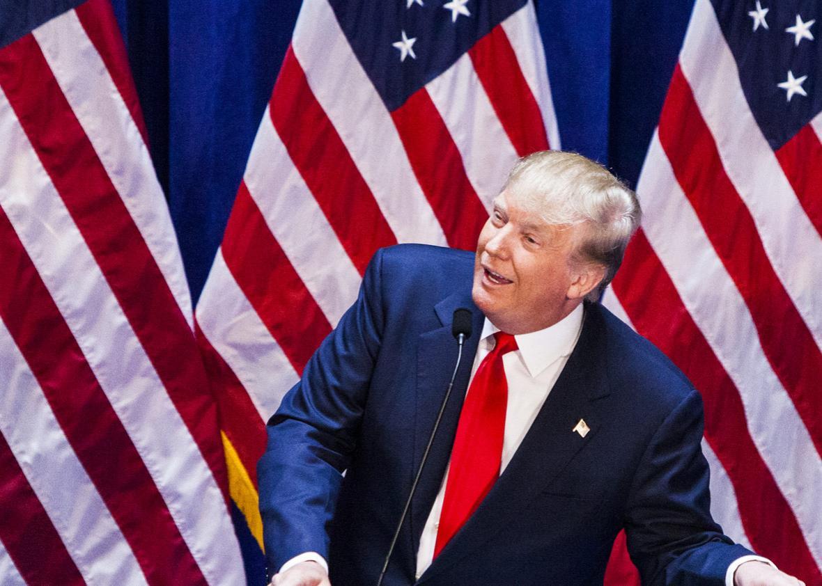Business mogul Donald Trump
