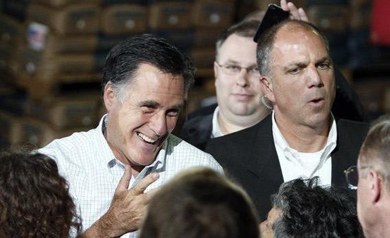 Gov. Mitt Romney.