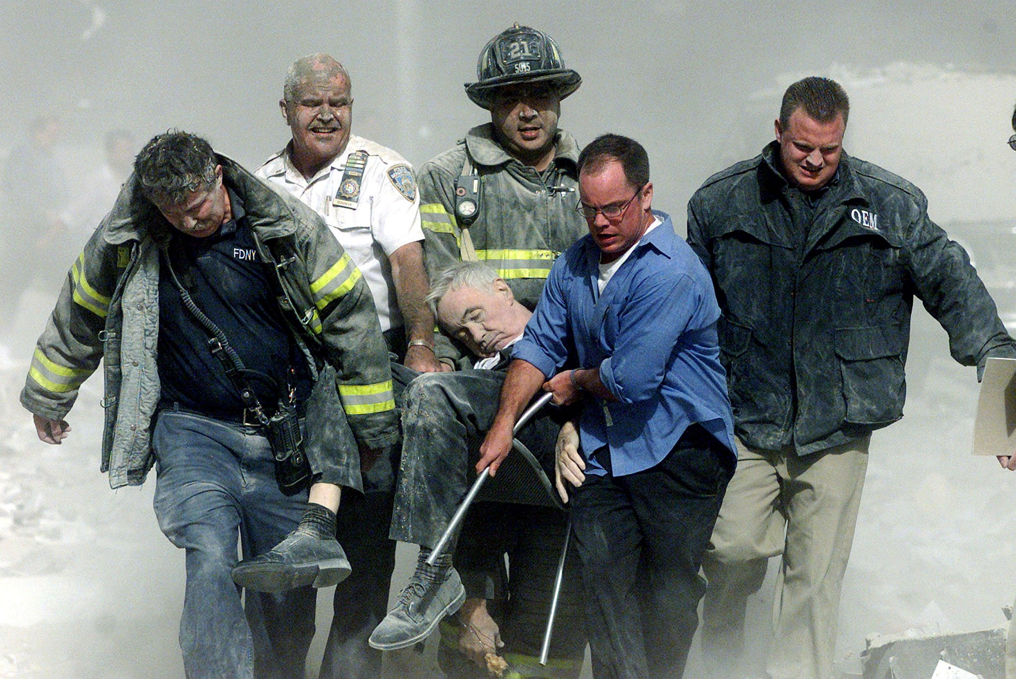 Father Mychal Judge Ground Zero