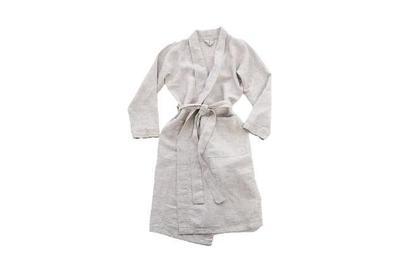 Rough Linen Robe