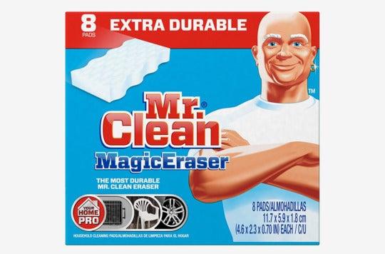 Mr. Clean magic eraser.