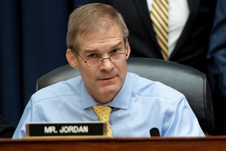 Rep. Jim Jordan.