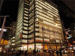 The New York Times building. Click image to expand.