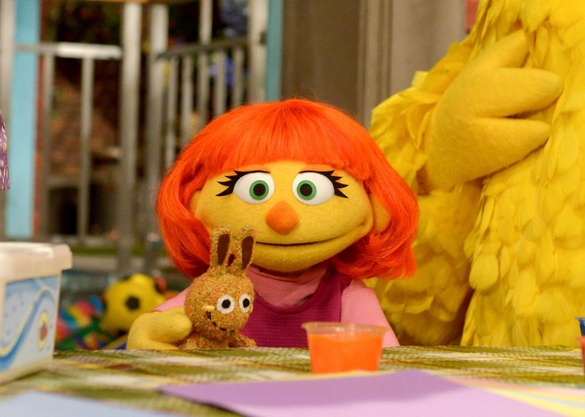 What Muppet With Autism Means To My >> Autistic Self Advocacy Network S Julia Bascom On Sesame Street S New
