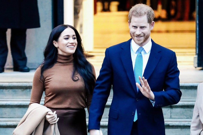 harry and meghan s break with the royal family is a real thrill for us all harry and meghan s break with the royal