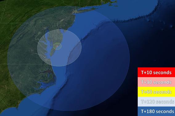 launch visibility map