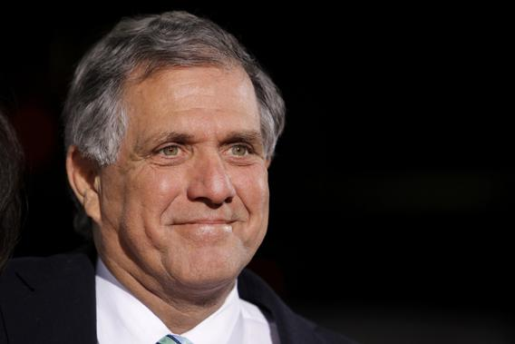 "CBS chief executive officer Les Moonves arrives at the premiere of CBS Film's ""Extraordinary Measures"" at Grauman's Chinese Theatre in Hollywood, California, January 19, 2010."