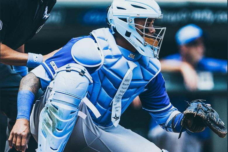 Kansas City Royals Catcher Achieves Elite Dad Status by Wearing Necktie During Game