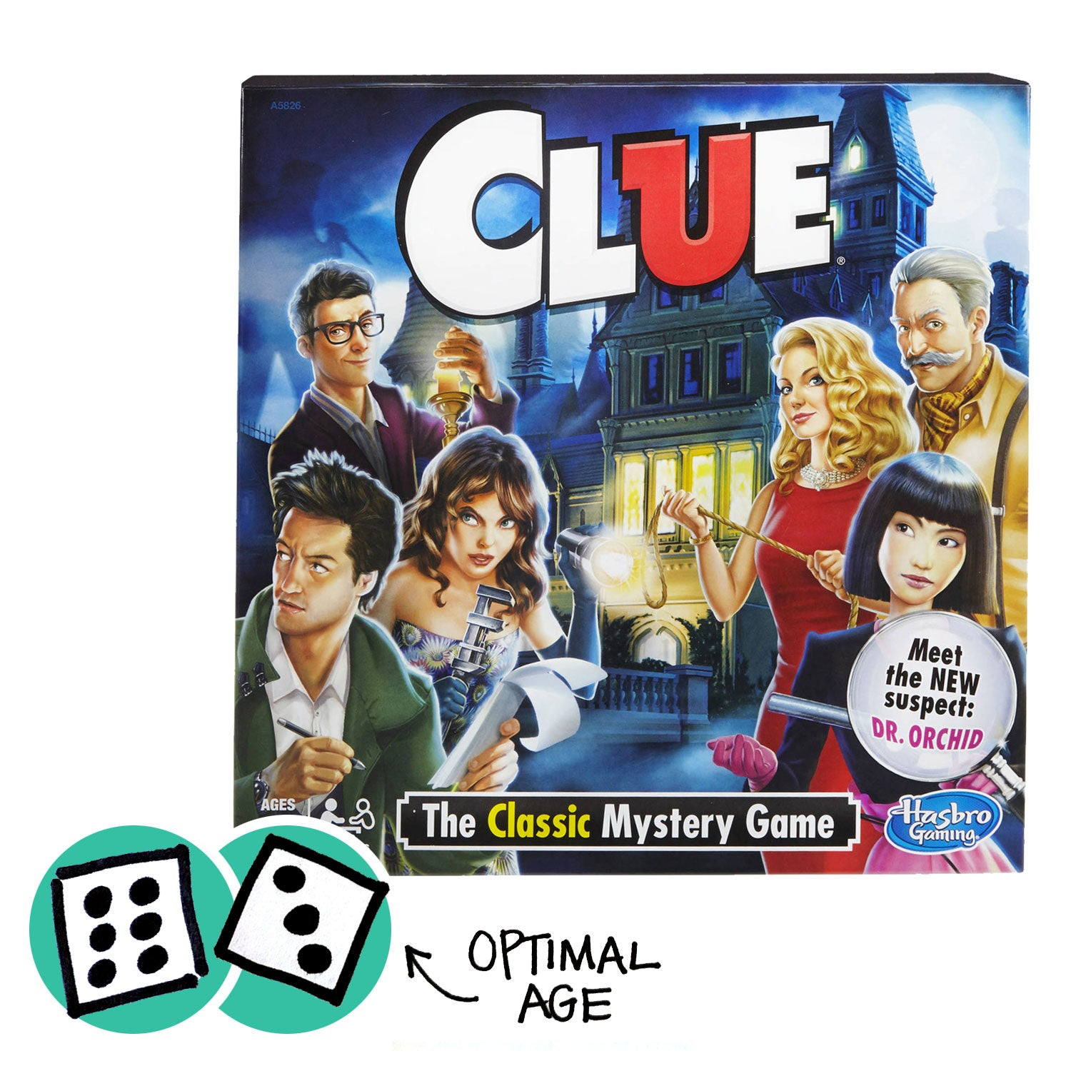 product image of clue with the optimal age (12)