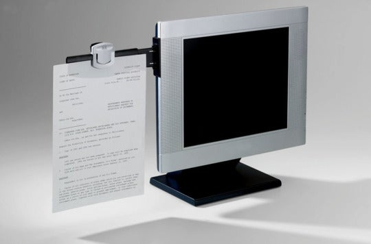 3M Monitor Mount Document Clip.