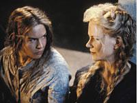 Zellweger and Kidman in Cold Mountain
