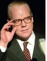 Philip Seymour Hoffman as Truman Capote. Click image to expand.