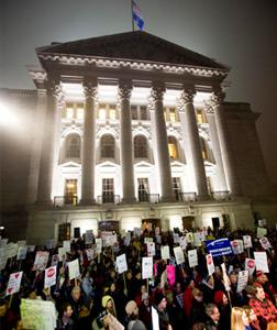 Wisconsin protests. Click image to expand.