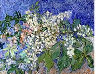 Blossoming Chestnut Branches by Vincent van Gogh. Click image to expand.