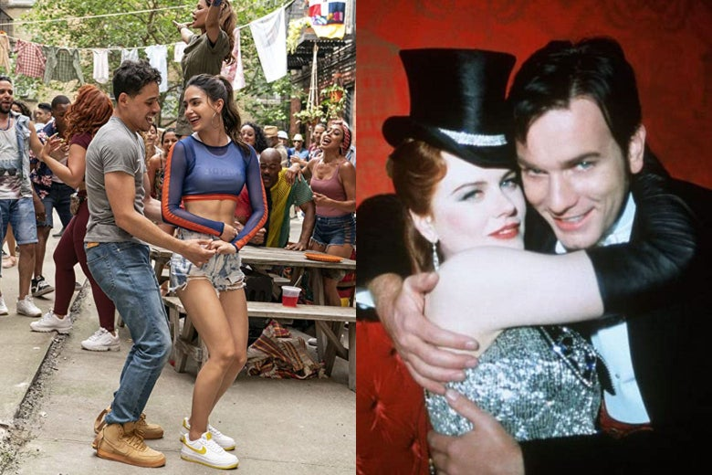 In the Heights and Moulin Rouge!