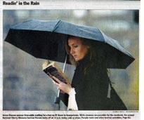 Really readin' in the rain? (click on image to expand)