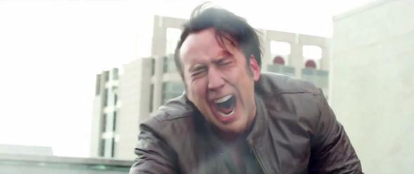 Nic Cage in Rage