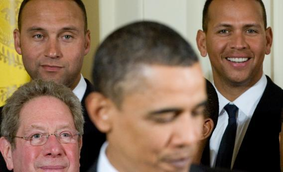 Obama, A-Rod and Jeter