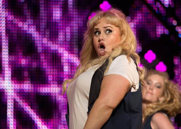 Rebel Wilson in Pitch Perfect 2.