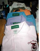 The camp polo shirts offered for sale