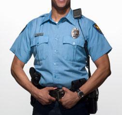 Portrait of law enforcement officer.