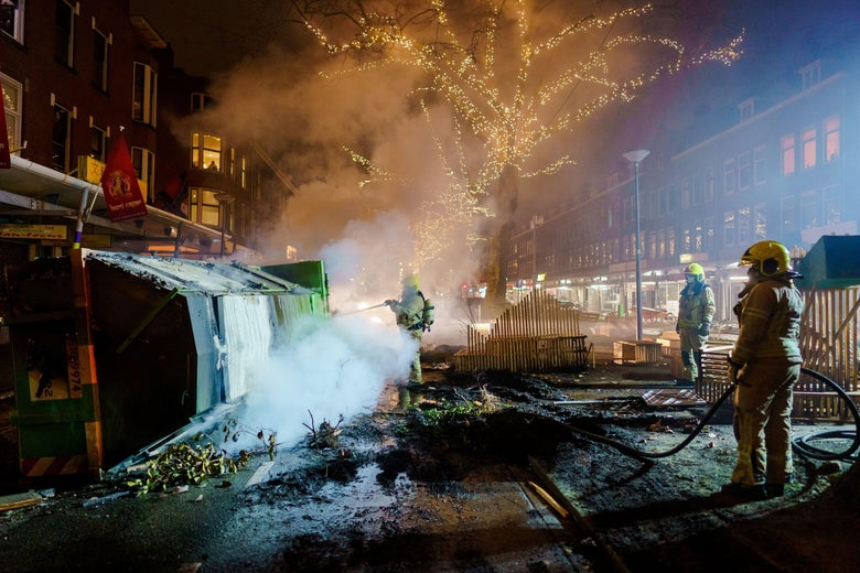 Why Is the Netherlands Rioting Over COVID Now?